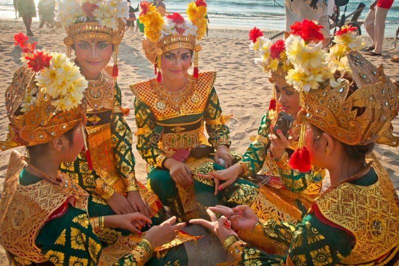 Carnaval de Kuta fotos de archivo libres de regalías