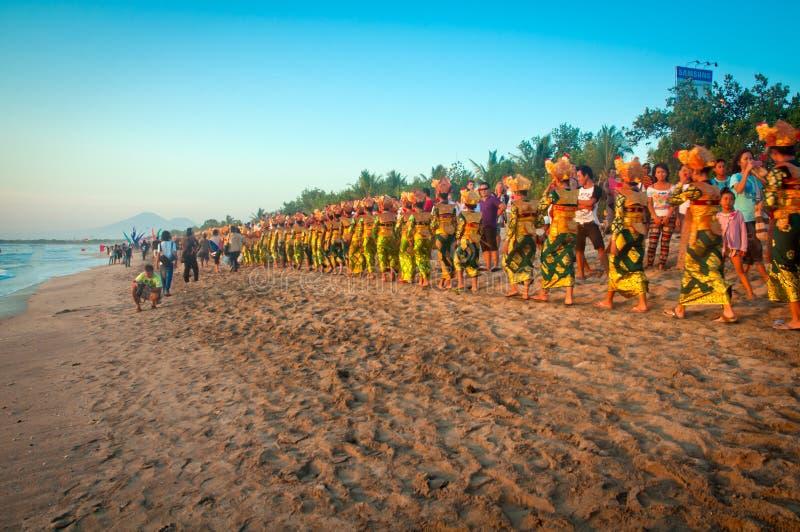 Carnaval de Kuta imagen de archivo