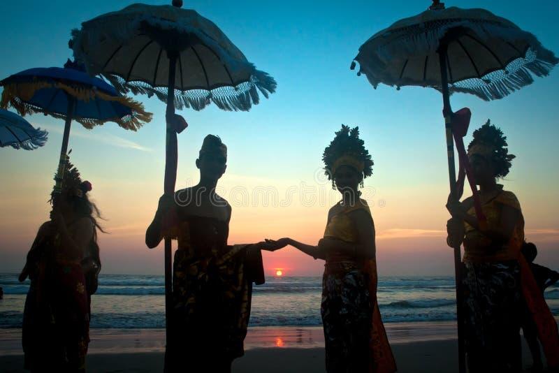 Carnaval de Kuta fotografía de archivo libre de regalías