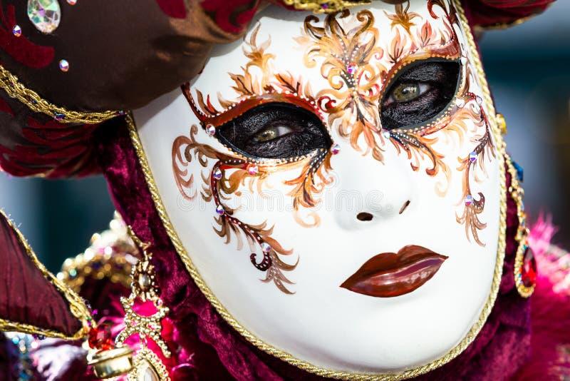 Carnaval de las máscaras de Venecia fotos de archivo libres de regalías