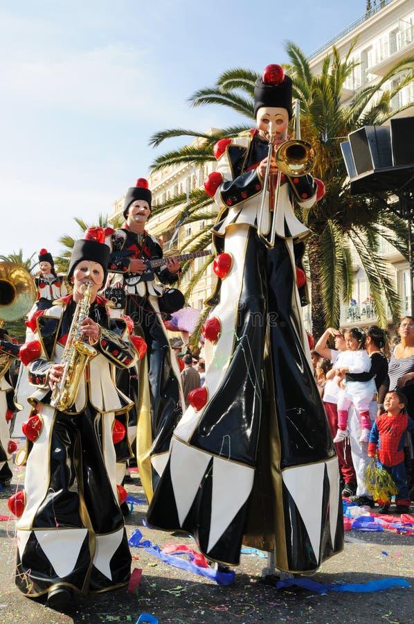Carnaval de Nice, France. photographie stock libre de droits