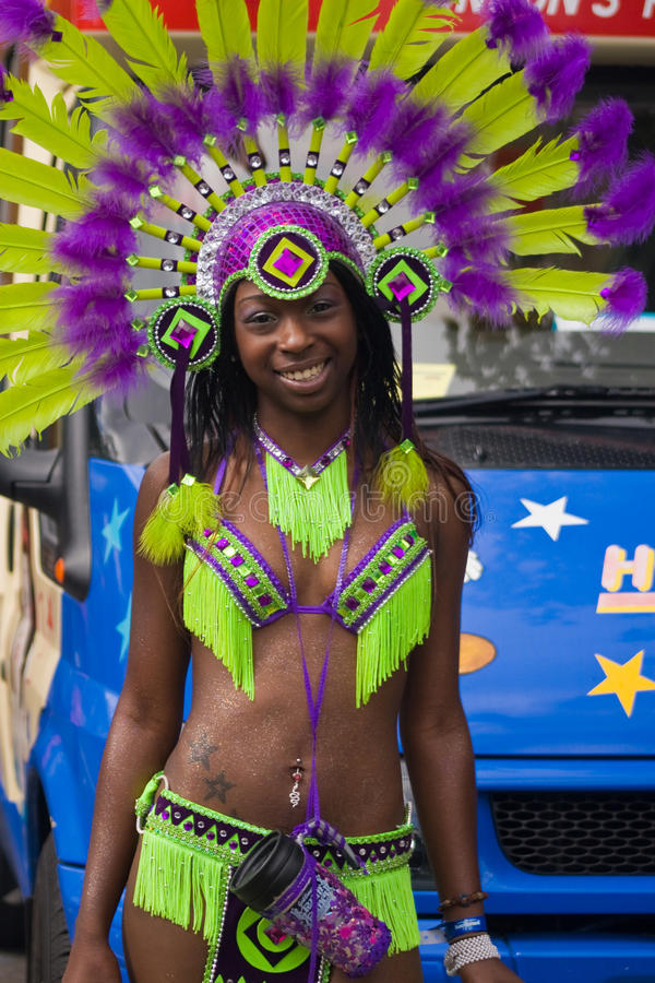 Carnaval de Notting Hill foto de stock