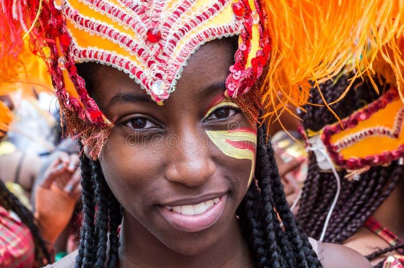 Carnaval 2008 de Notting Hill imagem de stock royalty free