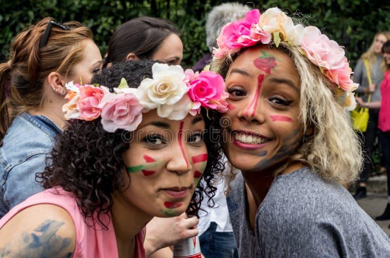 Carnaval 2008 de Notting Hill fotos de stock royalty free