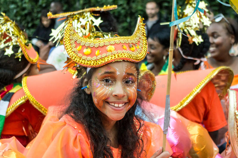 Carnaval 2008 de Notting Hill imagens de stock royalty free