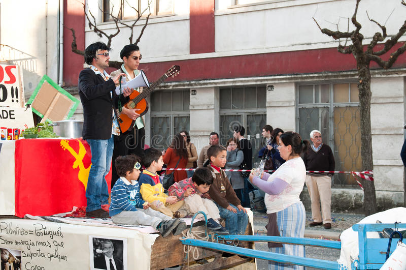 carnaval De Ourem Portugal zdjęcia stock