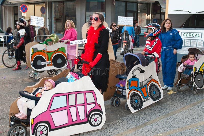 carnaval De Ourem Portugal zdjęcie royalty free