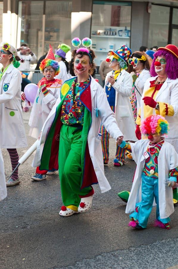 carnaval De Ourem Portugal obraz stock