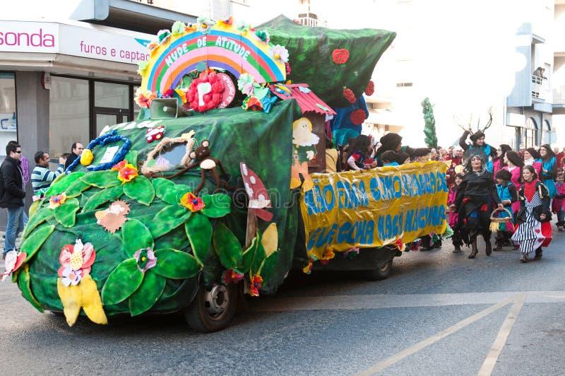 carnaval De Ourem Portugal fotografia stock