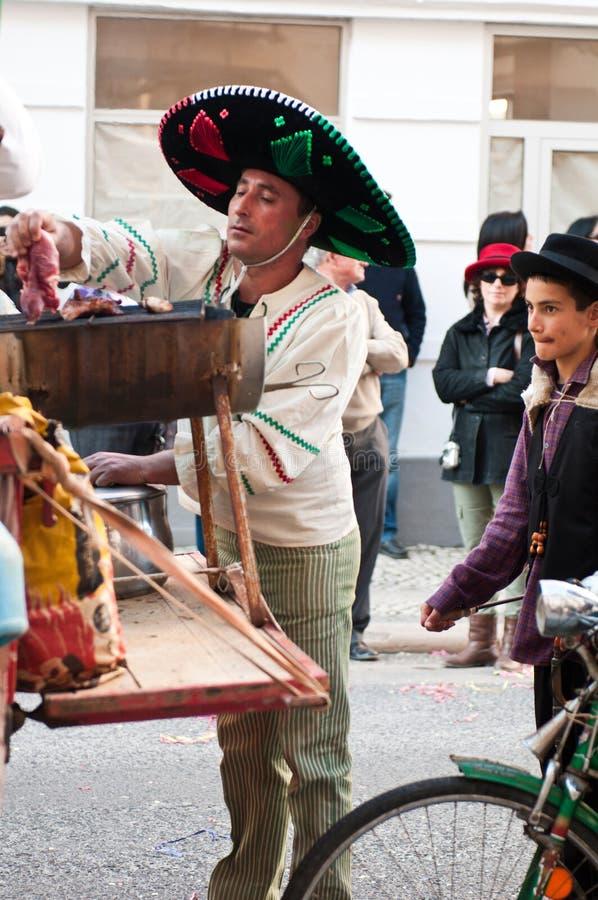 carnaval De Ourem Portugal obrazy stock
