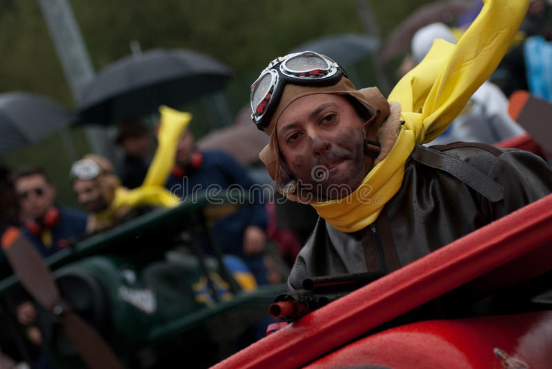 Carnaval de Ovar, Portogallo immagini stock