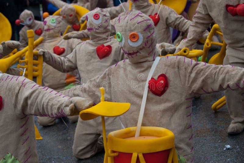 carnaval de ovar Portugal obrazy stock