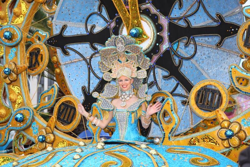 Carnaval de Santa Cruz de Tenerife imágenes de archivo libres de regalías