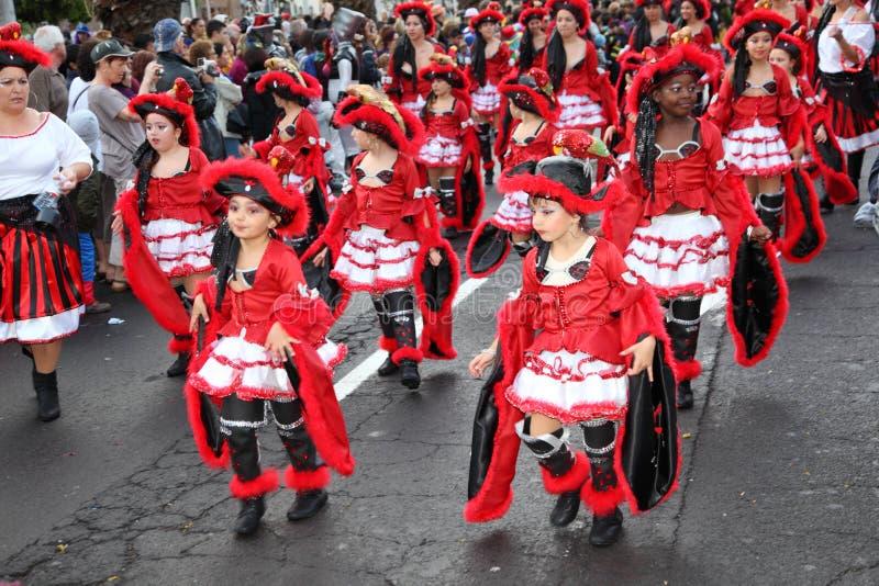 Carnaval de Santa Cruz de Tenerife fotografía de archivo libre de regalías