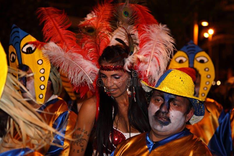 Carnaval de Santa Cruz de Tenerife image libre de droits