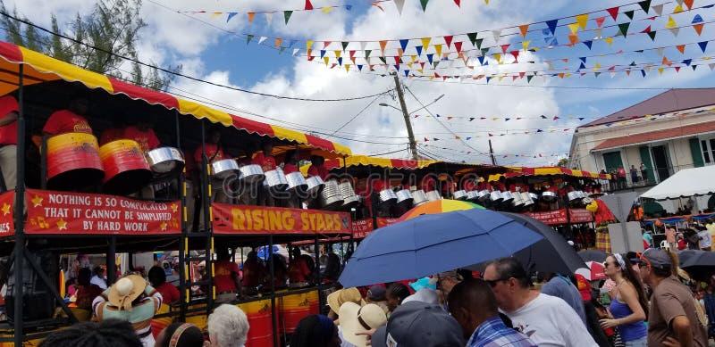 Carnaval de St Thomas - Rising Stars Band 2019 photo libre de droits