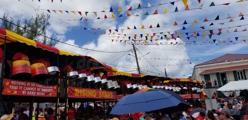 Carnaval de St Thomas - Rising Stars Band 2019 photos stock