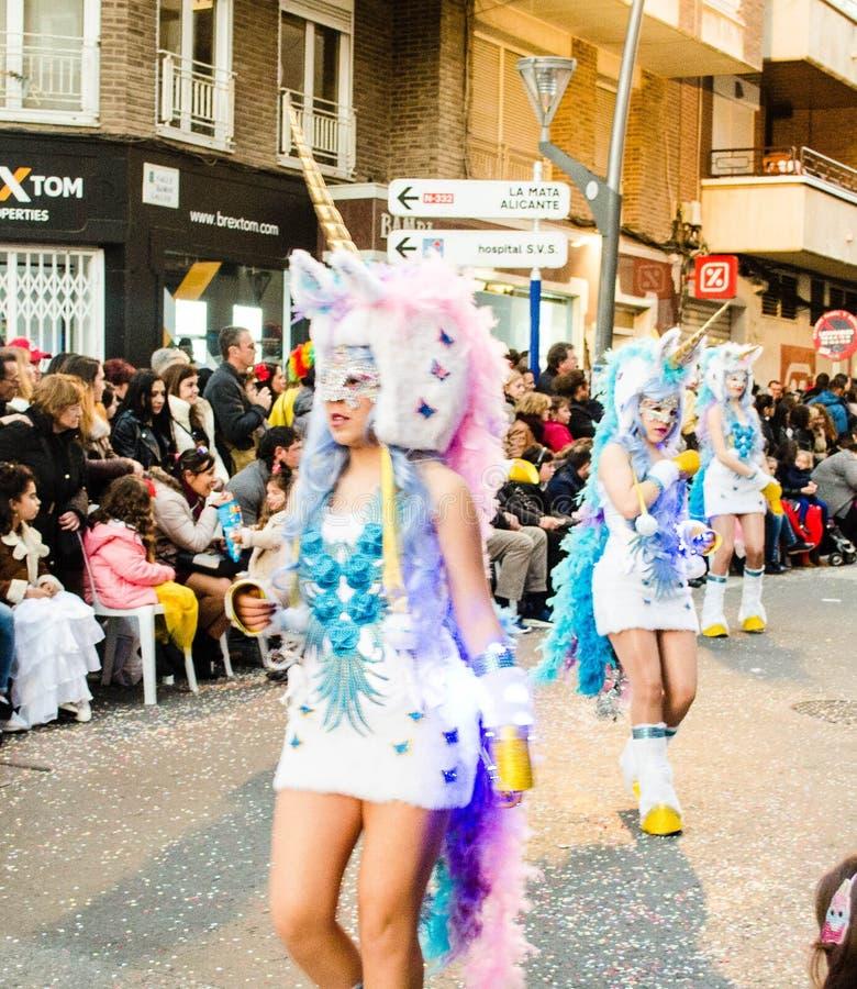 Carnaval de Torrevieja 2018 стоковые изображения
