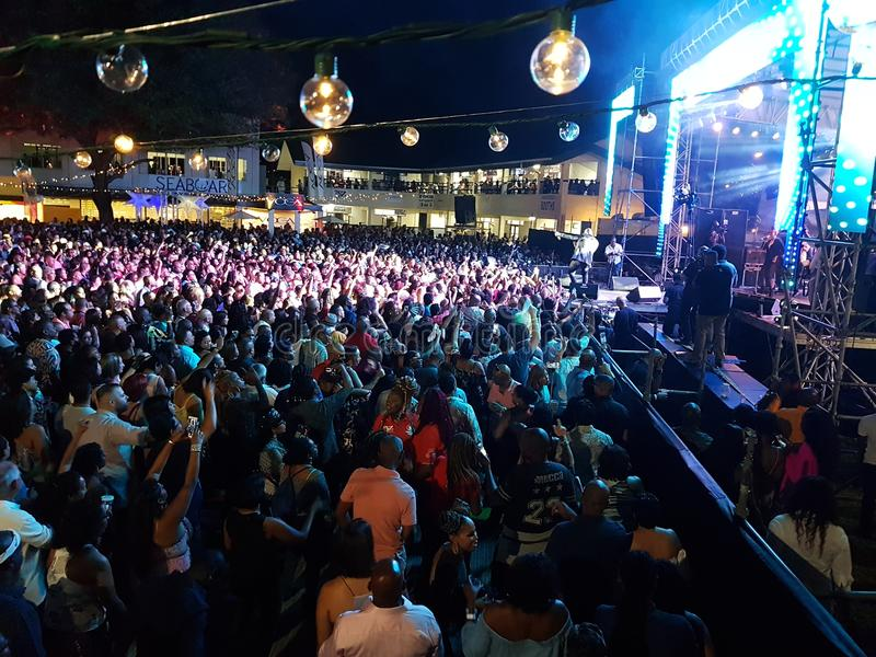 Carnaval de Trindade e Tobago foto de stock