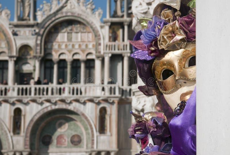 Carnaval de Venecia imagen de archivo libre de regalías