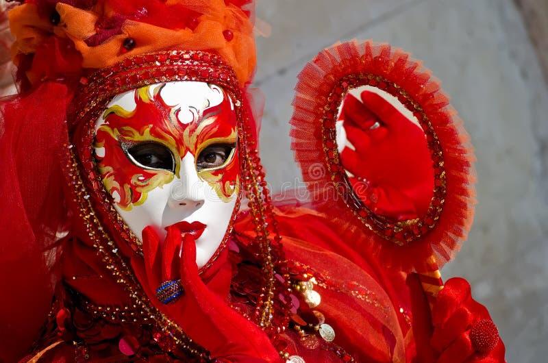 carnaval de Venecia fotografía de archivo libre de regalías