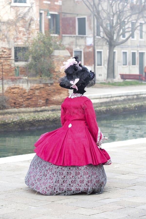 Carnaval 2017 de Venecia M?scaras venecianas Venecia, Italia El carnaval es el acontecimiento más importante del año en Venecia imagen de archivo libre de regalías
