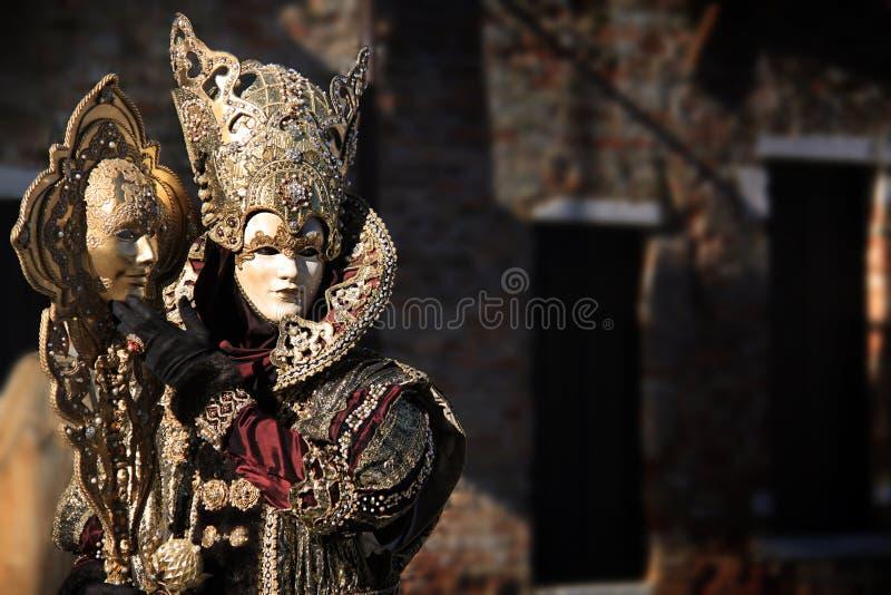 Carnaval 2016 de Veneza imagens de stock royalty free