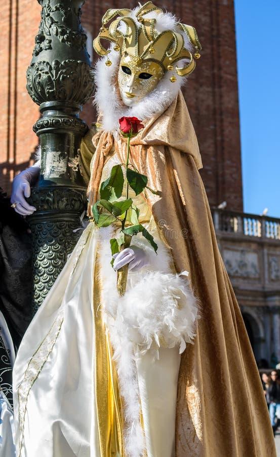 Carnaval 2009 de Veneza fotos de stock royalty free