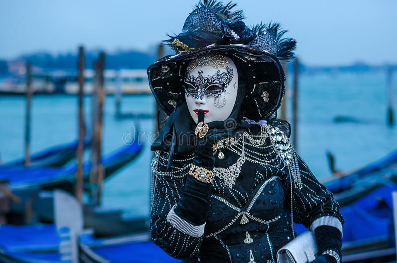 Carnaval 2009 de Veneza imagem de stock royalty free