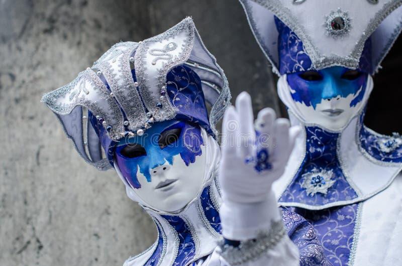 Carnaval 2009 de Veneza fotografia de stock