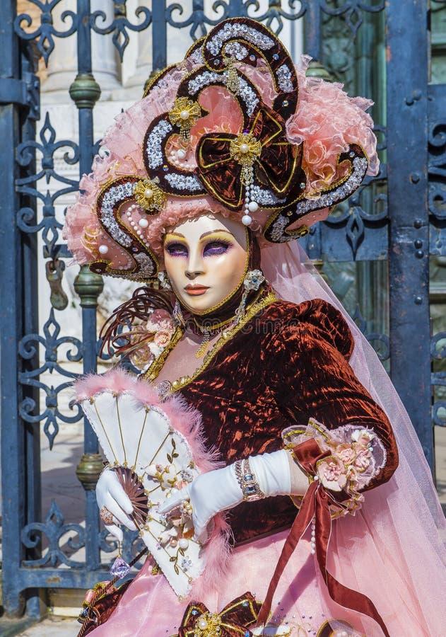 Carnaval 2019 de Veneza imagem de stock royalty free