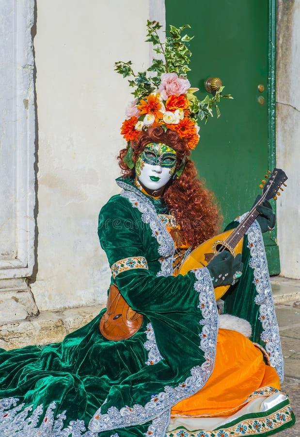 Carnaval 2019 de Veneza imagens de stock