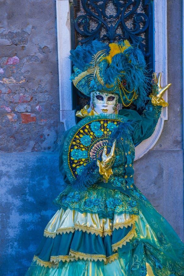 Carnaval 2019 de Veneza imagens de stock royalty free
