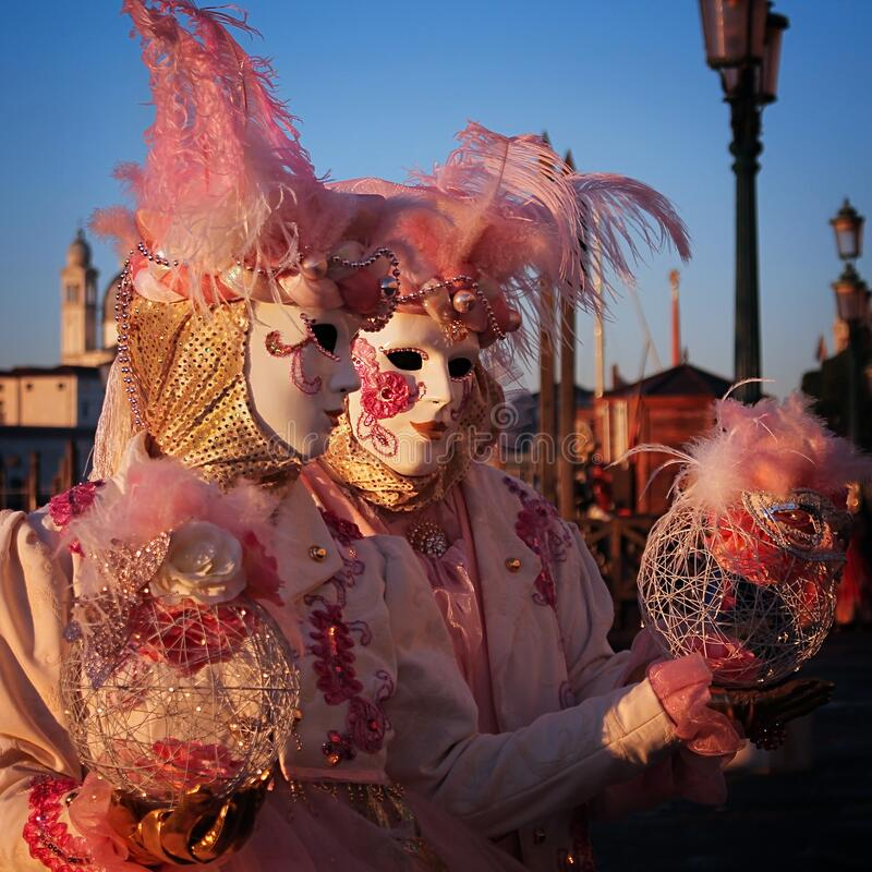 Carnaval de Veneza 2016 imagem de stock royalty free