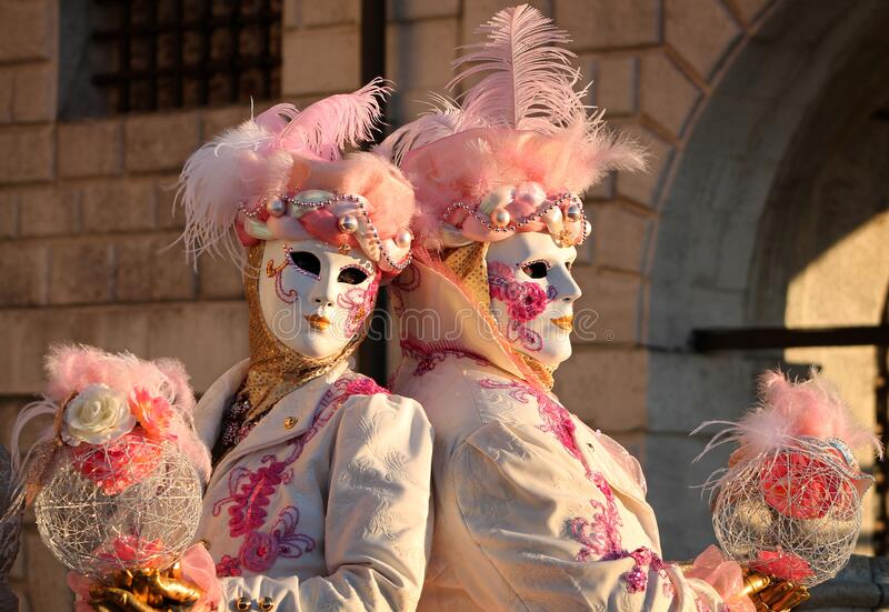 Carnaval de Veneza 2016 imagem de stock