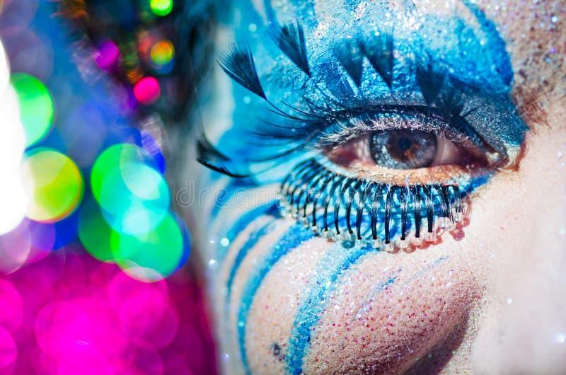 Carnaval de Viareggio 2011 fotografía de archivo libre de regalías