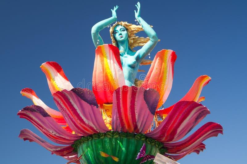 Carnaval de Viareggio 2011, Italia foto de archivo