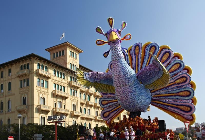 Carnaval de Viareggio foto de stock