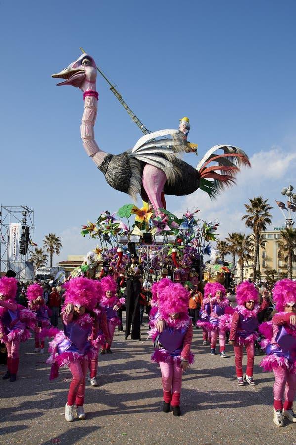 Carnaval de Viareggio imagens de stock