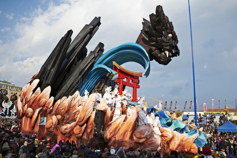 Carnaval de Viareggio photos stock