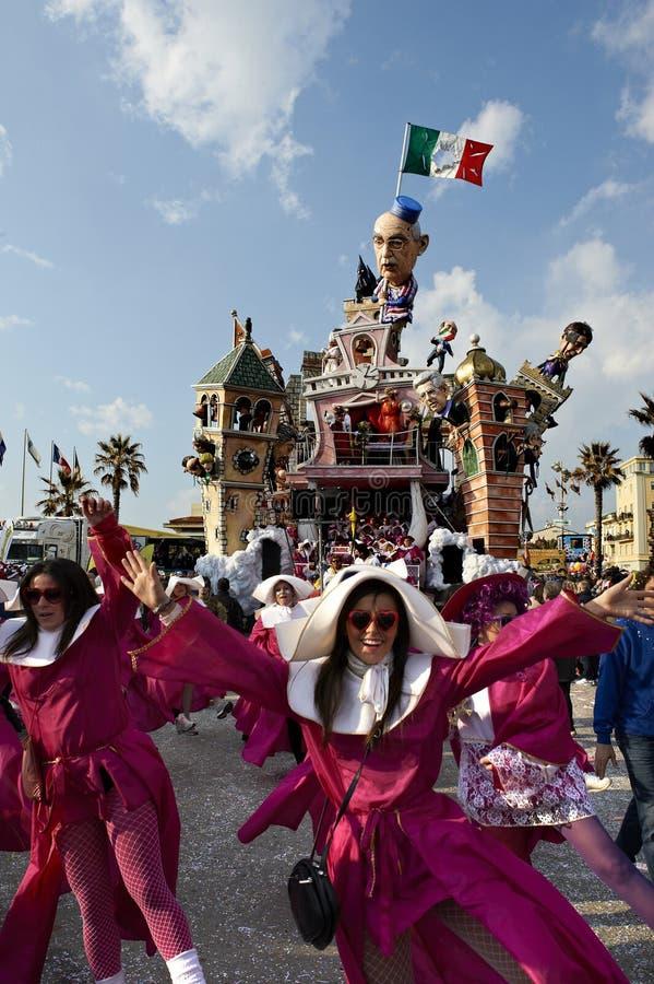 Carnaval de Viareggio fotografía de archivo