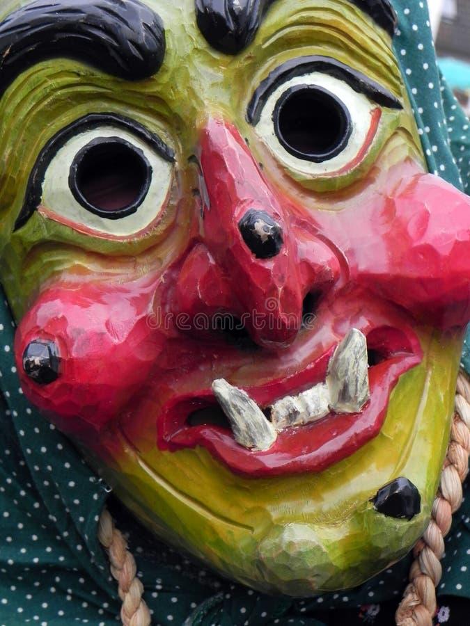 Carnaval del bosque negro, Alemania imagenes de archivo
