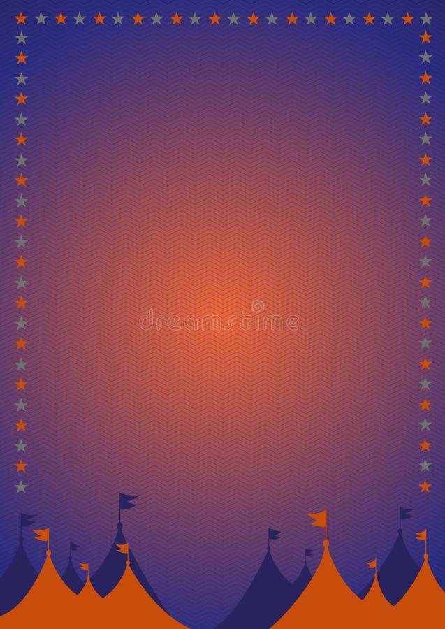 Carnaval del vintage o cartel del circo libre illustration