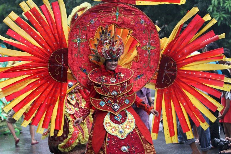 Carnaval do traje da natureza fotos de stock royalty free