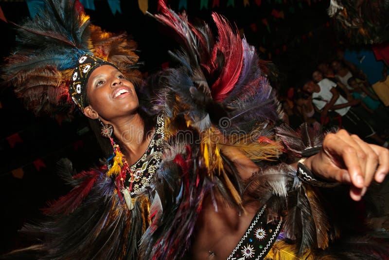 Carnaval el Brasil del festival del boi del meu de Bumba imagen de archivo