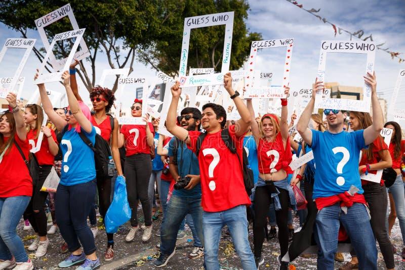 Carnaval em Chipre fotos de stock