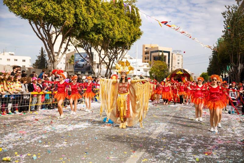Carnaval em Chipre imagem de stock royalty free
