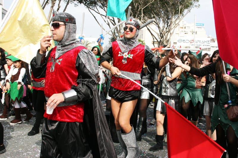 Carnaval em Chipre imagem de stock