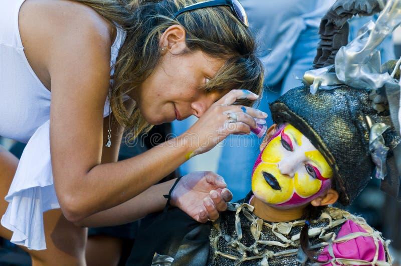 Carnaval em Montevideo foto de stock royalty free