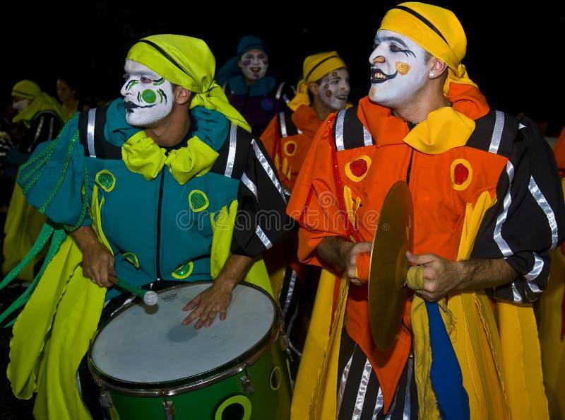 Carnaval em Montevideo imagens de stock royalty free